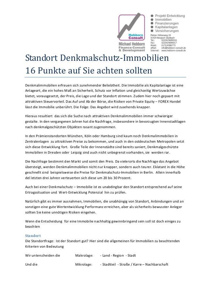 StandortDenkmalschutz‐Immobilien16PunkteaufSieachtensolltenDenkmalimmobilienerfreuensichzunehmenderBeliebthe...