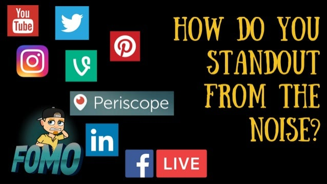 How To Grow Your Following and Stand-Out with Live Video Slide 3