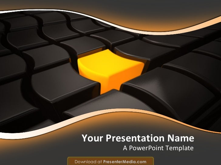 A PowerPoint Template Your Presentation Name