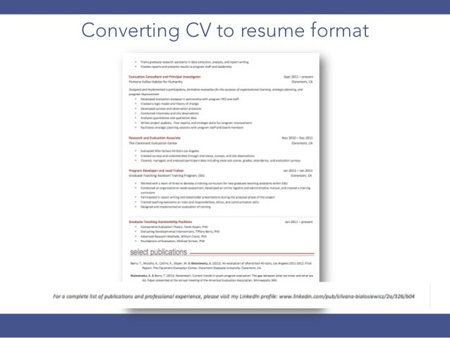 How to Create a Stand Out Resume