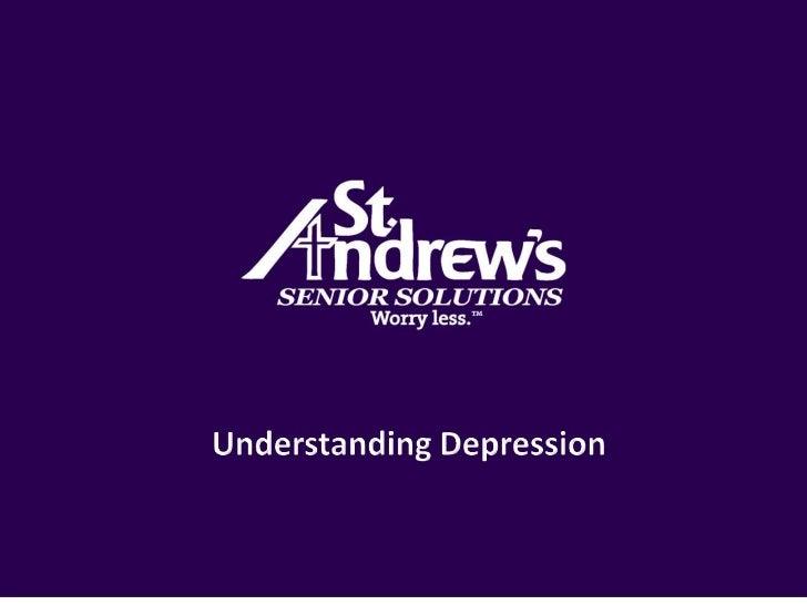 Understanding Depression<br />