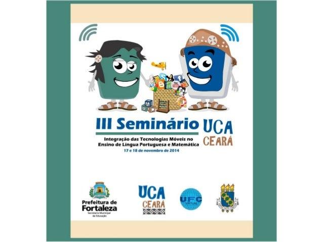 III SemiUCA  17 e 18 de novembro de 2014  STANDS
