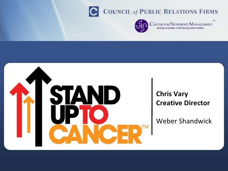 Chris Vary Creative Director Weber Shandwick