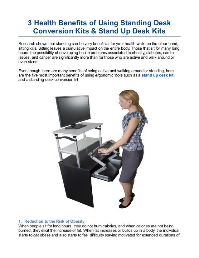 Benefits Of Standing Desk Research 3 10 Internist Dr Horn De