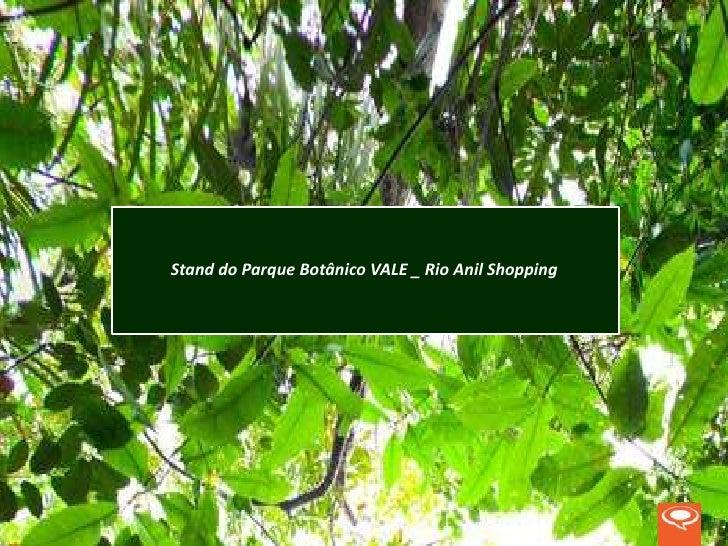 Stand do Parque Botânico VALE _ Rio Anil Shopping