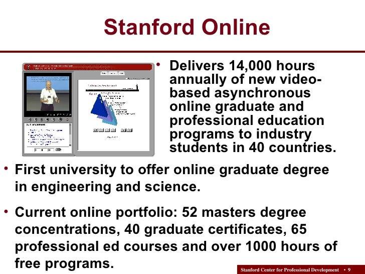 Stanford: National Distance Learning Week Webinar