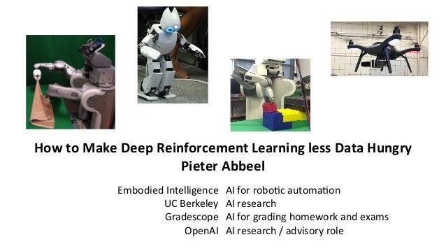 Deep Reinforcement Learning by Pieter