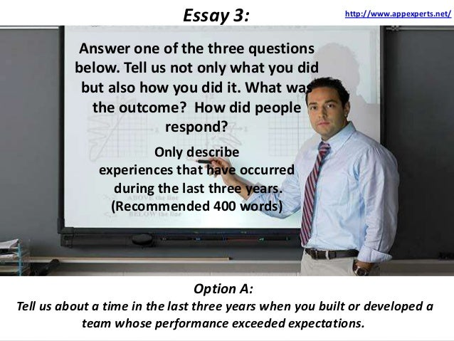 Stanford essay prompt 2013