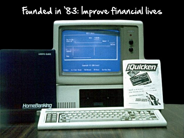 Founded in '83: Improve financial lives
