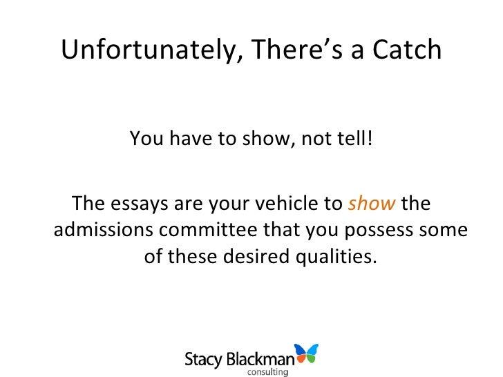stanford admission essay