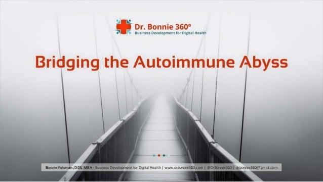 © 2015 - All rights reserved. Bonnie Feldman, DDS, MBA - Business Development for Digital Health   www.drbonnie360.com   @...