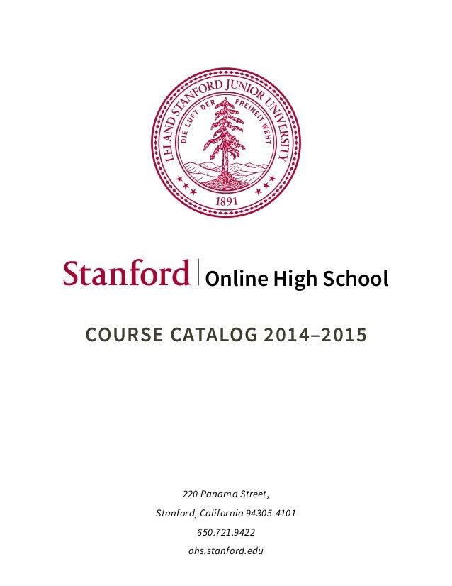 Online Stanford Degree U Local