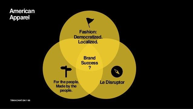 102TBWACHIATDAY Framework for Brand Success Brand Belief CEO Embodiment Brand Behaviors Brand Success