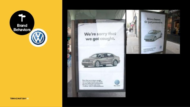 """TBWACHIATDAY Brand Behaviors 65 """"Volkswagen should use simple ads that hark back to those early days to rehabilitate its t..."""