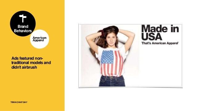86TBWACHIATDAY Brand Behaviors Brand stood for social movements