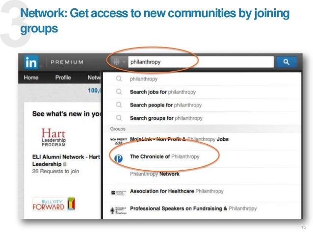 1515 Industry Connectedness 1stDegree CXO Connections Network: Get access to new communities by joining groups
