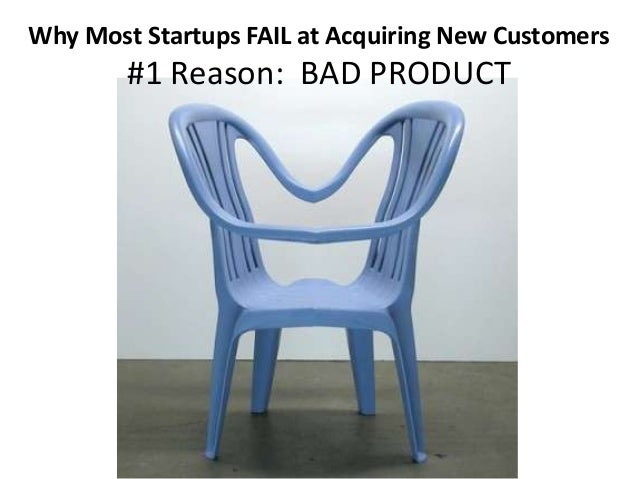 Why Most Startups Fail at Acquiring New Customers (and how you can succeed!) Slide 3