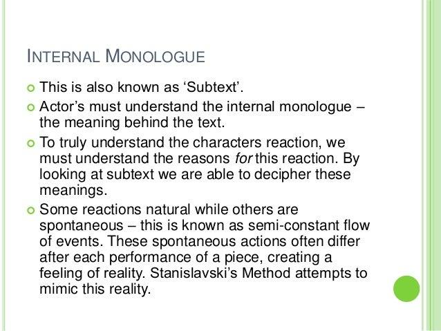 Interior Monologue Example   Interior Ideas.