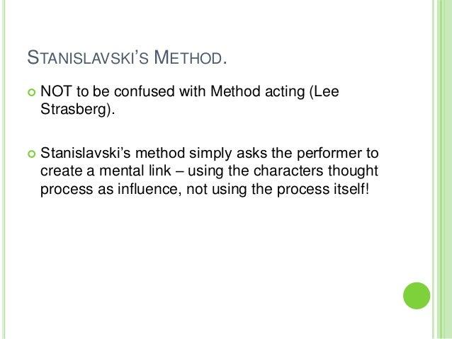 Stanislavski's system