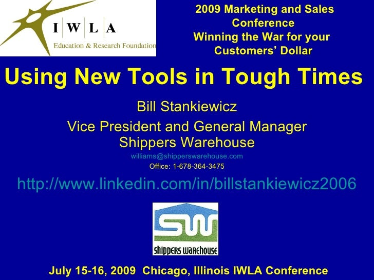 2009 Marketing and Sales                                          Conference                                    Winning th...