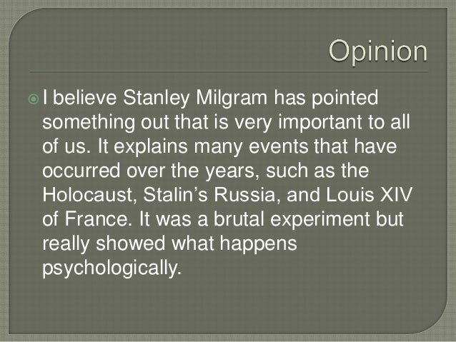 a study on the issues and dangers of the milgram experiment Famous milgram 'electric shocks' experiment drew wrong  of the study, some two thirds of  the ethical as well as the theoretical issues raised by milgram's .