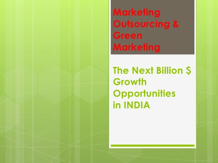 Stanley Rao on Green Marketing