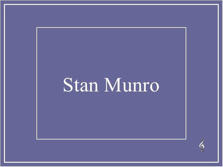 Stan Munro