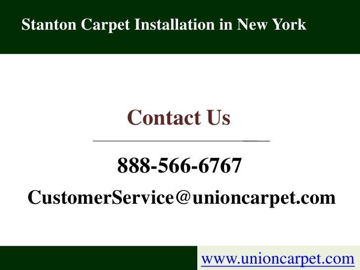 Discount Stanton Carpet Installation Services in New York Slide 3
