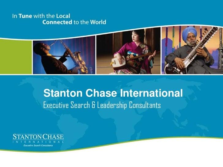 Stanton Chase InternationalExecutive Search & Leadership Consultants