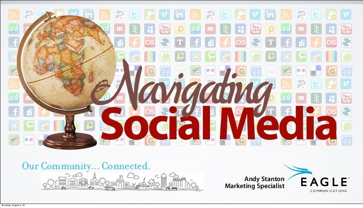 Navigating                                   Social Media                   Our Community... Connected.                   ...