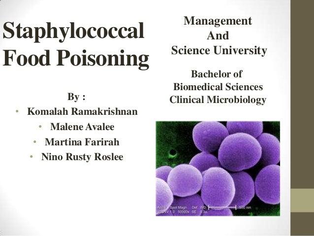 E Coli And S Aureus Food Poisoning