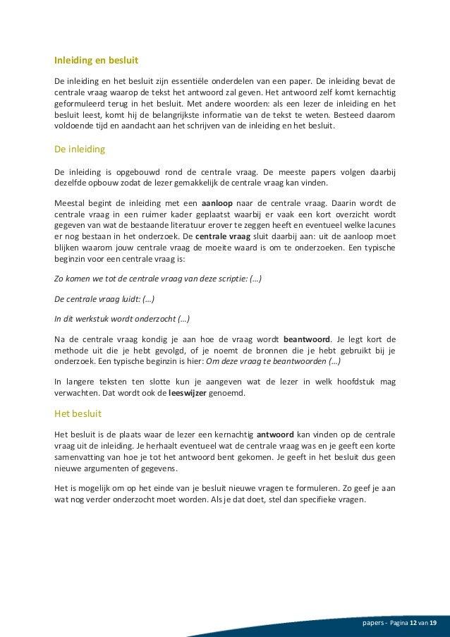 voorbeeld van een thesis Elke auteur heeft ten allen tijde het recht wijzigingen aan te brengen aan zijn/haar scriptie of die van e-thesis te het gebruik van een citaat uit zijn.