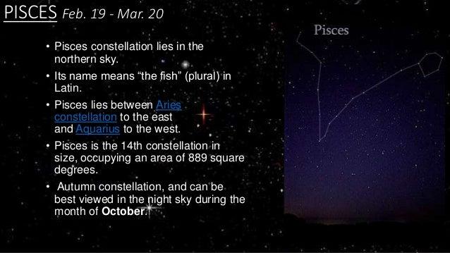 Pisces Constellation Stars