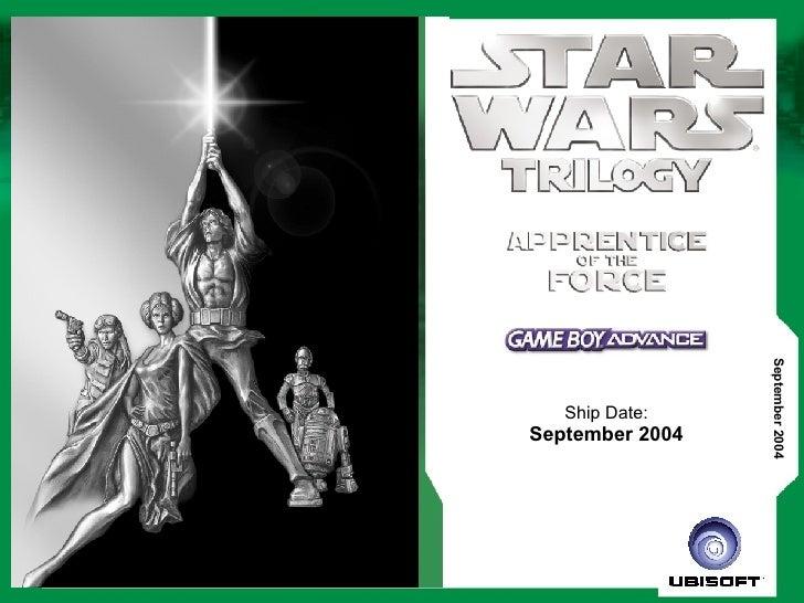 Ship Date: September 2004