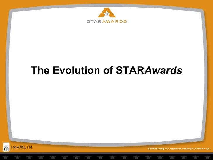 The Evolution of STAR Awards