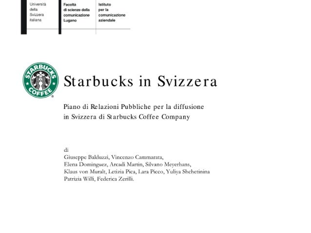 Starbucks in Swiss