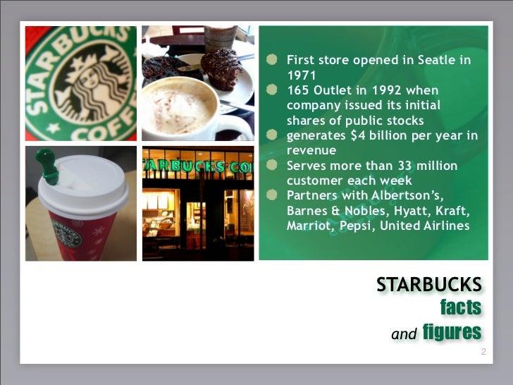 Starbuck's experience Slide 3