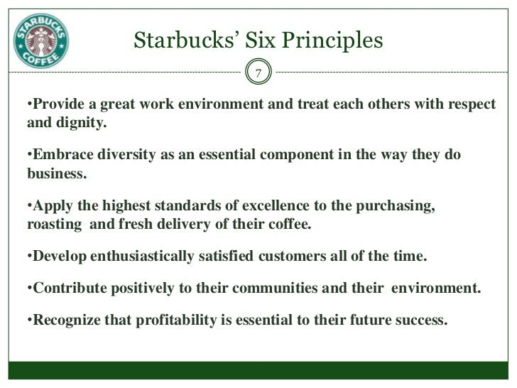 research objectives for starbucks