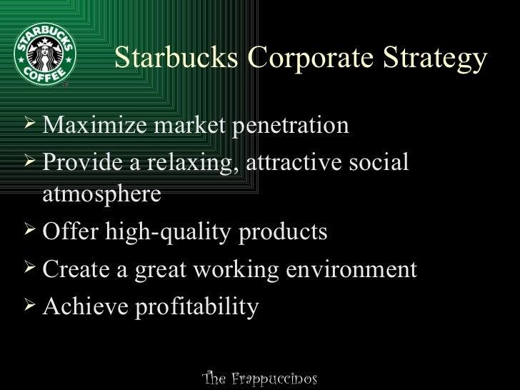 Starbucks swot principles of management