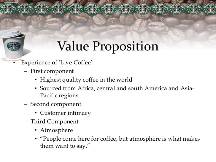 value chain of starbuck Starbucks has a enterprise value of 8442b starbucks enterprise value (sbux) charts, historical data, comparisons and more.