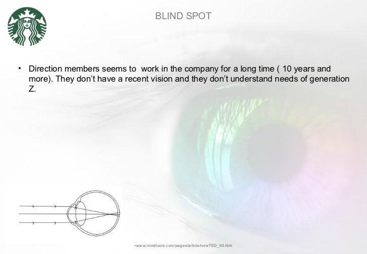 BLIND SPOT <ul><li>www.mindtools.com/pages/article/newTED_90.htm </li></ul><ul><li>Direction members seems to  work in the...