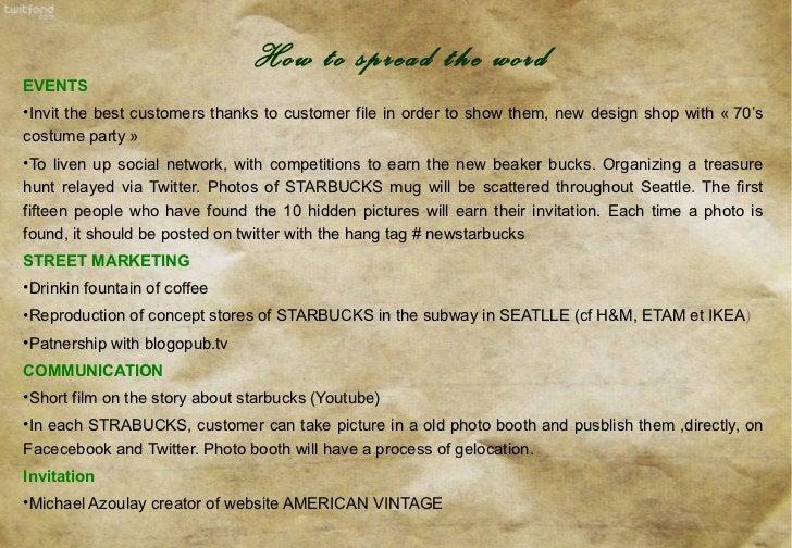 <ul><li>EVENTS </li></ul><ul><li>Invit the best customers thanks to customer file in order to show them, new design shop w...