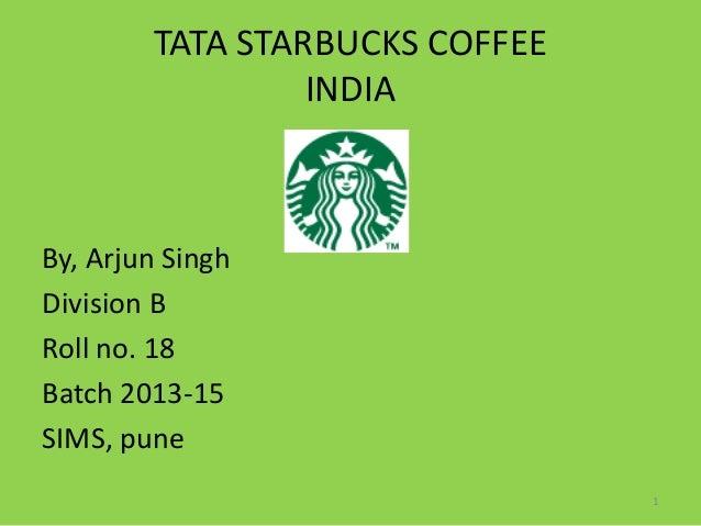 Starbucks india case