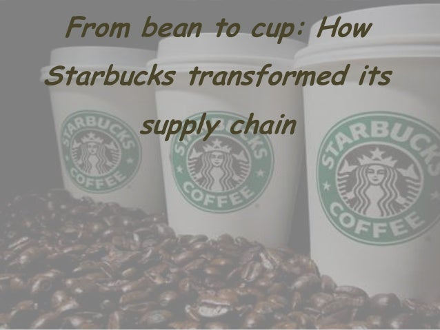 From bean to cup: How Starbucks transformed its supply chain