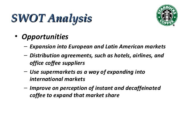 alicafe swot instant coffee market Transcript of swot analysis for an italian coffee chain swot analysis for an italian coffee and tea chain market growing or shrinking -instant coffee mixes and tea.