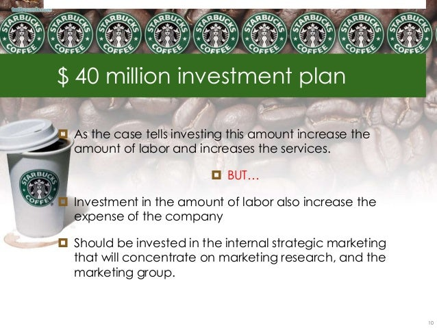 starbucks 40 million investment Starbucks uses the highest quality arabica coffee as the base for its espresso drinks learn about our unique coffees and espresso drinks today.