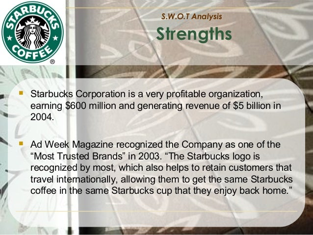 starbucks in 2004 driving for global dominance The starbucks global farmer fund is a $50 million commitment to provide loans to  while driving value and economic development  global responsibility report .