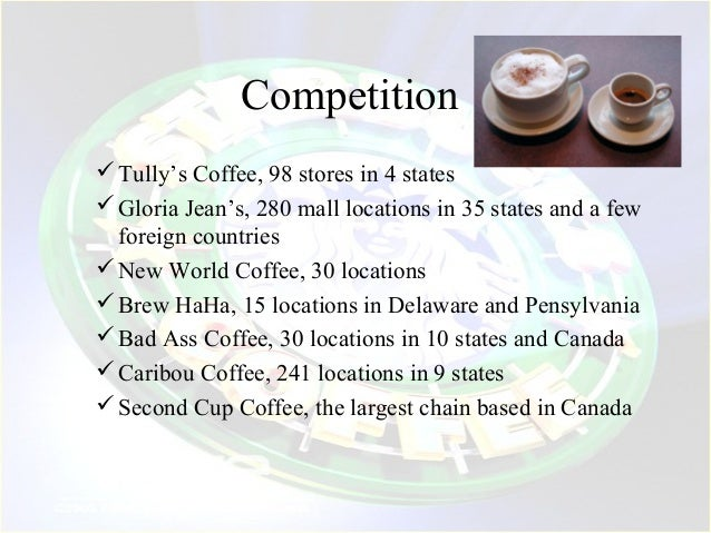 game theory an analysis of starbucks Learn about michael hugos' supply chain management game that managed to   game theory, (the branch of mathematics concerning competitive  stores  frequent last minute orders (meaning more expensive air-shipping.