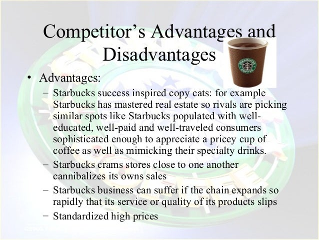 disadvantage of starbucks Starbucks coffee franchises are located in many barnes & noble stores,  advantages & disadvantages of co-branding among franchises.