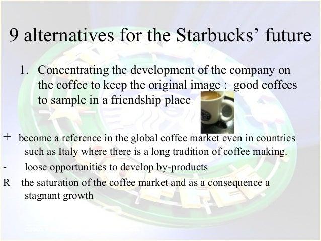 the advantages and disadvantage of starbucks 1 starbucks a strategic analysis past decisions and future options 4/17/2008 brown university economics department ryan c larson 08.